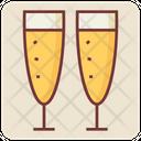 Alcohol Glasses Icon