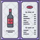 Alcohol menu Icon