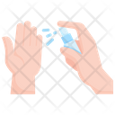 Alcohol sanitizer Icon