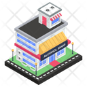 Marketplace Retail Shop Alcohol Shop Icon