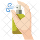 Alcohol Spray Disinfectant Coronavirus Icon