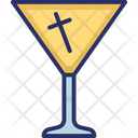 Alcoholic Cocktail Drink Icon