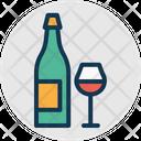 Alcohol Alcoholic Drink Wine Icon