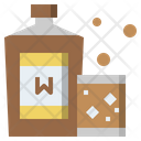 Food And Restaurant Whiskey Whisky Icon
