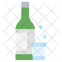 Alcoholic Drink Alcohol Bottle Alcohol Glass Icon