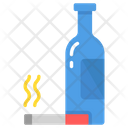 Alcoholism Addict Icon