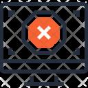 Alert Cancel Computer Icon
