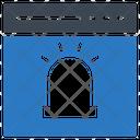 Alert Browser Webpage Icon