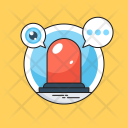 Alert Chat Bubble Icon