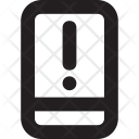 Alert Mobile Error Icon