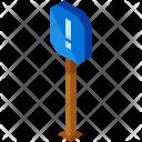 Alert Street Sign Icon