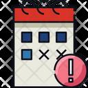 Alert Calendar Icon