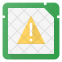 Alert in Microchip Icon