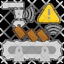 Alert Management Industrial Safety Incident Alert Machine Warning Industrial Iot Mm Icon