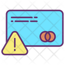 Alert Payment Payment Card Warning Alert Icon