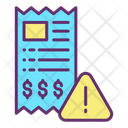 Alert Payment Payment Warning Alert Icon