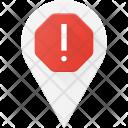 Alert pin Icon