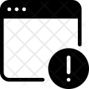 Alert webpage Icon