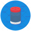 Alexa Smart Speaker Wireless Device Icon