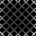 Algebra Math Parabola Icon