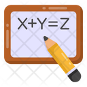 Equation Algebra Formula Writing Icon