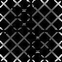 Algebra Graph Analytics Data Visualization Icon