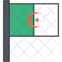 Algeria Algerian African Icon