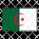 Algeria Flag Nation Icon