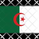 Flag Country Algeria Icon