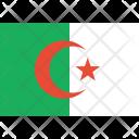 Algeria Flag World Icon