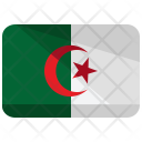 Algeria Flag Country Icon
