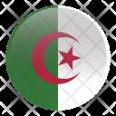Algeria Algerian Dza Icon
