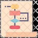 Algorithm Plan Process Icon