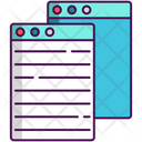Algorithm Text Web Text Icon