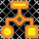 Algorithm Flowchart Diagram Icon