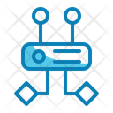 Algorithm Technology Code Icon