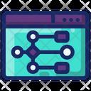 Algortihm Coding Programming Icon