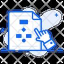 Algorithm Sitemap Flowchart Icon