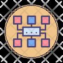 Algorithm Communication Connection Icon