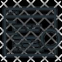 Algorithm Bitcoin Code Icon