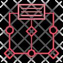 Algorithm Flow Diagram Icon
