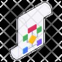 Algorithm Data Flow Sitemap Icon