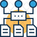 Sitemap Algorithm Architecture Icon