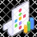 Flow Diagram Algorithm Sitemap Icon