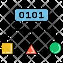 Algorithm Ai Algorithm Flowchart Icon