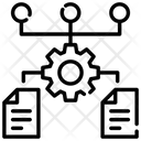 Algorithm Hierarchy Data Flow Icon