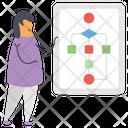 Algorithm Flat Icon