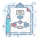 Algorithm Process Icon