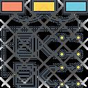 Algorithms Flowchart Hierarchy Icon