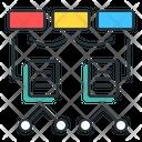 Algorithms Algorithm Flowchart Icon